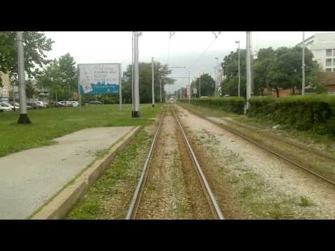 ZAGREB TRAM - Linie 13: Kvaternikov trg - itnjak [Umleitung!] (Teil 4/4)
