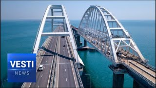 Kerch Bridge Celebrates Birthday! Longest Project of It's Kind in Europe Literally Re-Opens Crimea