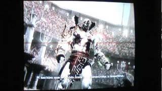 Kratos vs Shao Khan  Mortal Kombat 9  kratos endin