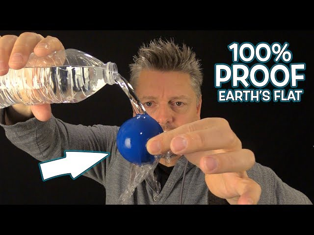 Earth is Flat! - 100 PROOF!! AMAZING!! Comedy