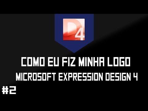 Como eu fiz minha logo - Microsoft expression design #2