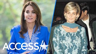 Kate Middleton Channels Princess Diana's Style For A Second Time On Pakistan Trip