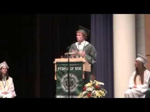 Matt Skros Salutatorian Speech Bishop Shanahan High School Class of 2014