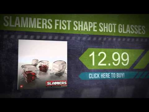 Slammers Fist Shape Shot Glasses