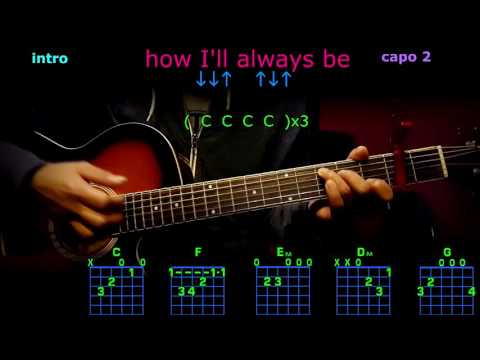 how I'll always be tim mcgraw guitar chords