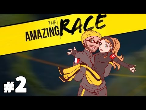 The Amazing Race Special Podcast with Burnie & Ashley #2
