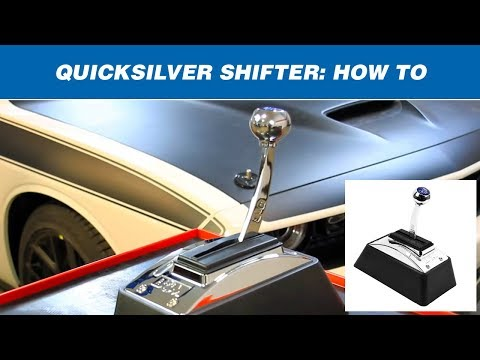 How to Shift a B&M QuickSilver Shifter