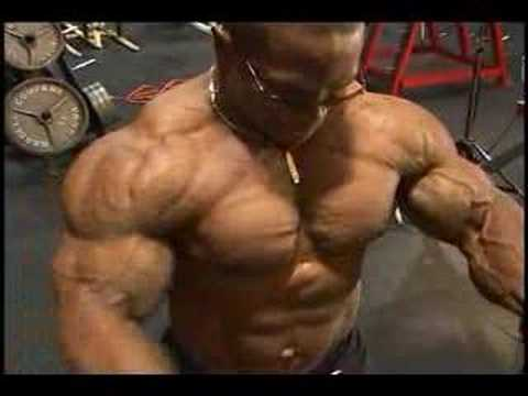 Bodybuilding muscle DVD Guns 7 preview Video