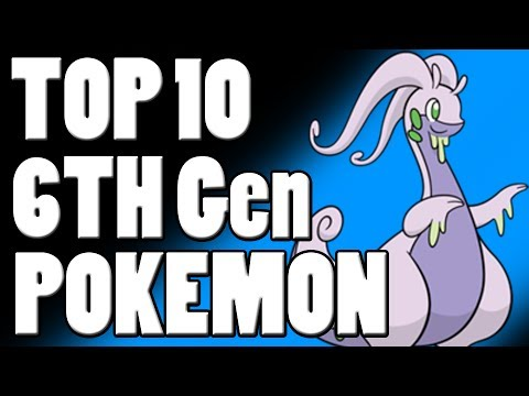 Top 10 6th Gen Pokemon For Competitive Battling! #1