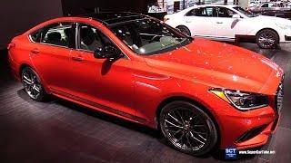2018 Genesis G80 Sport - Exterior and Interior Walkaround - 2018 Chicago Auto Show