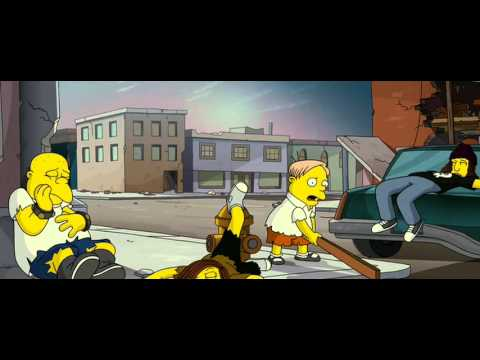 THE SIMPSONS MOVIE: Homer & Bart Save Day