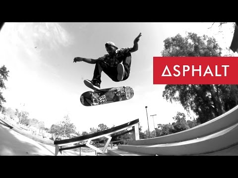 AYC | Derrick Wilson Skates The Diamond Supply Co. Skatepark