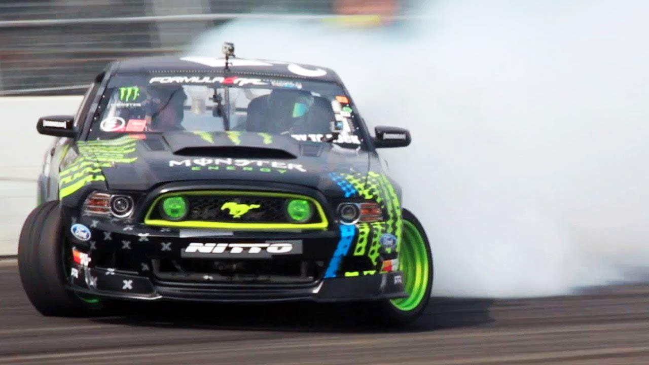 The One With Vaughn Gittin Jr Amp The 2014 Ford Mustang