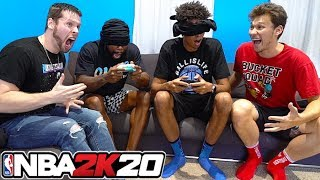 so I blindfolded 2HYPE on NBA 2K20