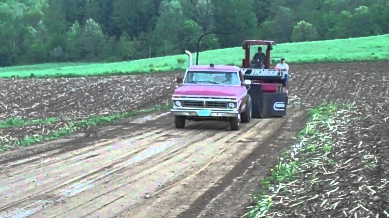 1977 Ford F350 Truck Pull Youtube