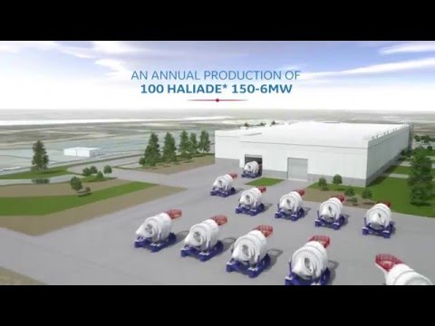 GE's Offshore Wind Industrial Projects