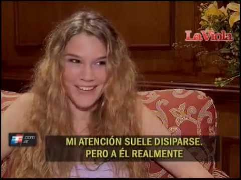 Joss Stone Interview on 'La Viola Web' in Argentina (2012)