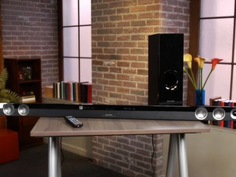 Superlong sound bar packs fittingly wide sound