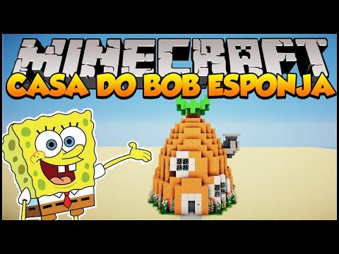 Minecraft: Como construir a casa do Bob Esponja Nova Versão