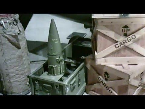 M455 nuclear artillery shell and core.