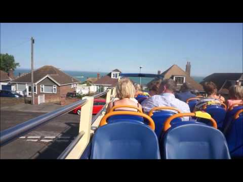 (HD) Re-instated open top service! LX51FOM 17528 Stagecoach Thanet Dennis Trident Euro 3 Voith