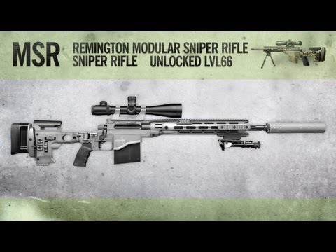 MSR : MW3 Weapon Guide, Gameplay & Gun Review