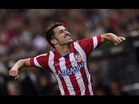 David Villa ► True Strength ► Atlético Madrid 2013-14