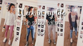 High School Week In My Life #2 | Lexy Noelia