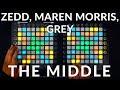 Lagu Zedd, Maren Morris, Grey - The Middle  Dual Launchpad Performance