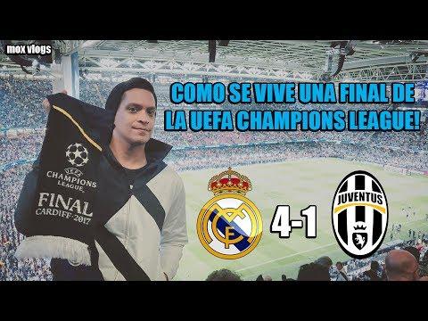Real Madrid Vs Juventus 4-1 ! Como se Vive la Final de la Champions?!