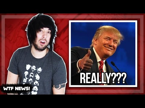 Donald Trump and the Mannequin challenge!! [WTF NEWS!]