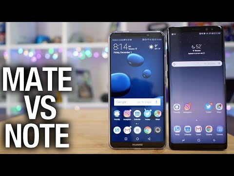 Huawei Mate 10 Pro vs Samsung Galaxy Note 8: Battle of the Beasts