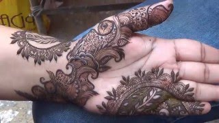 Modern Indian Dubai Arabic Mehndi Design 2016(Mehndiartistica)