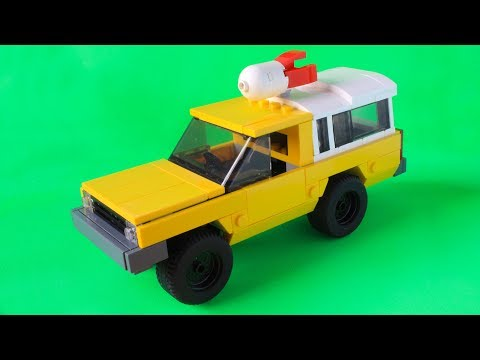Lego Pizza Planet truck from Toy Story (or all Pixar movies) MOC