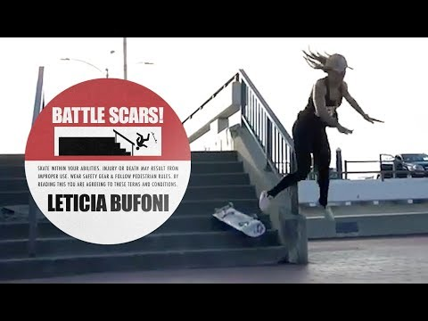 The Worst Slams Of Leticia Bufoni's Career | Battle Scars