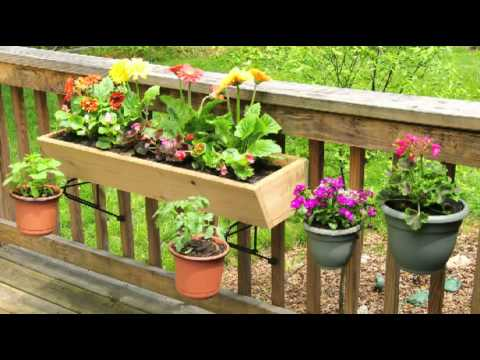 Rail Rockit Planter Brackets Youtube