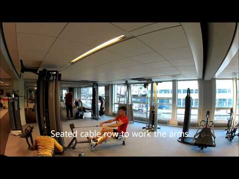 Strength training for rowers: basic exercises, rowing, krachttraining voor roeiers, roeien met Baaf Image 1