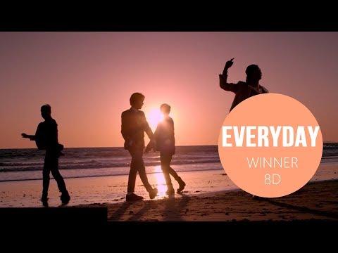 WINNER - EVERYDAY [8D USE HEADPHONES] 🎧