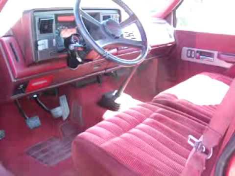 1990 Chevrolet 1500 Shortbed Sport Truck Youtube