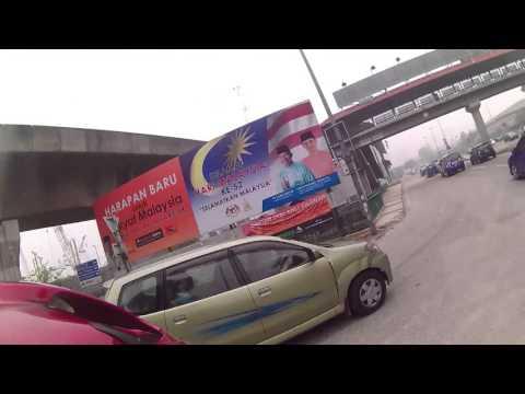 Haze in Kuala Lumpur. Terrible end