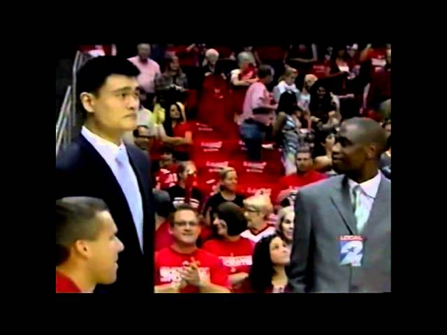 Paging Dr. Grover: Houston Rockets Star Yao Ming's Foot Injury