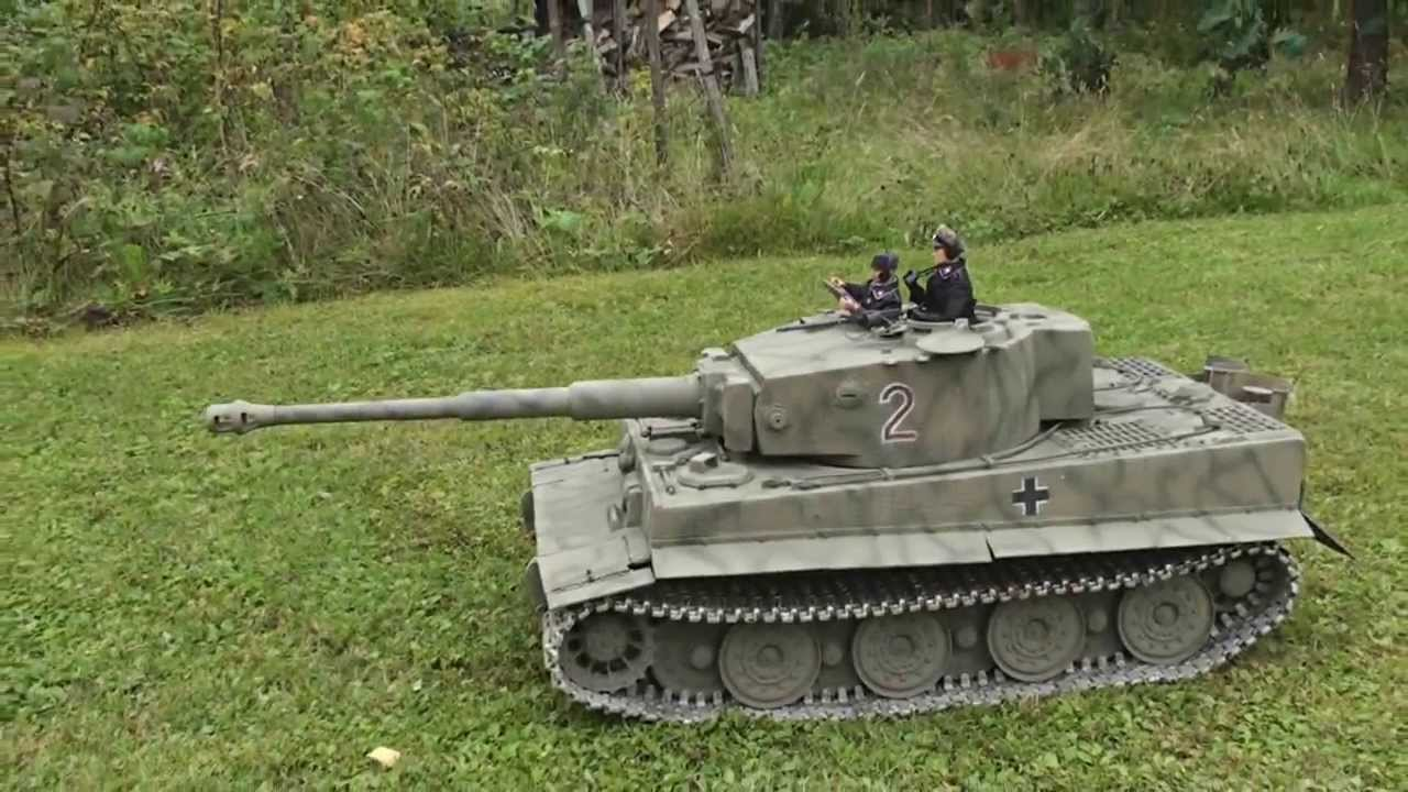 1 6 Scale Rc Tiger 1 Tank Youtube