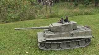 1/6 Scale RC Tiger 1 Tank