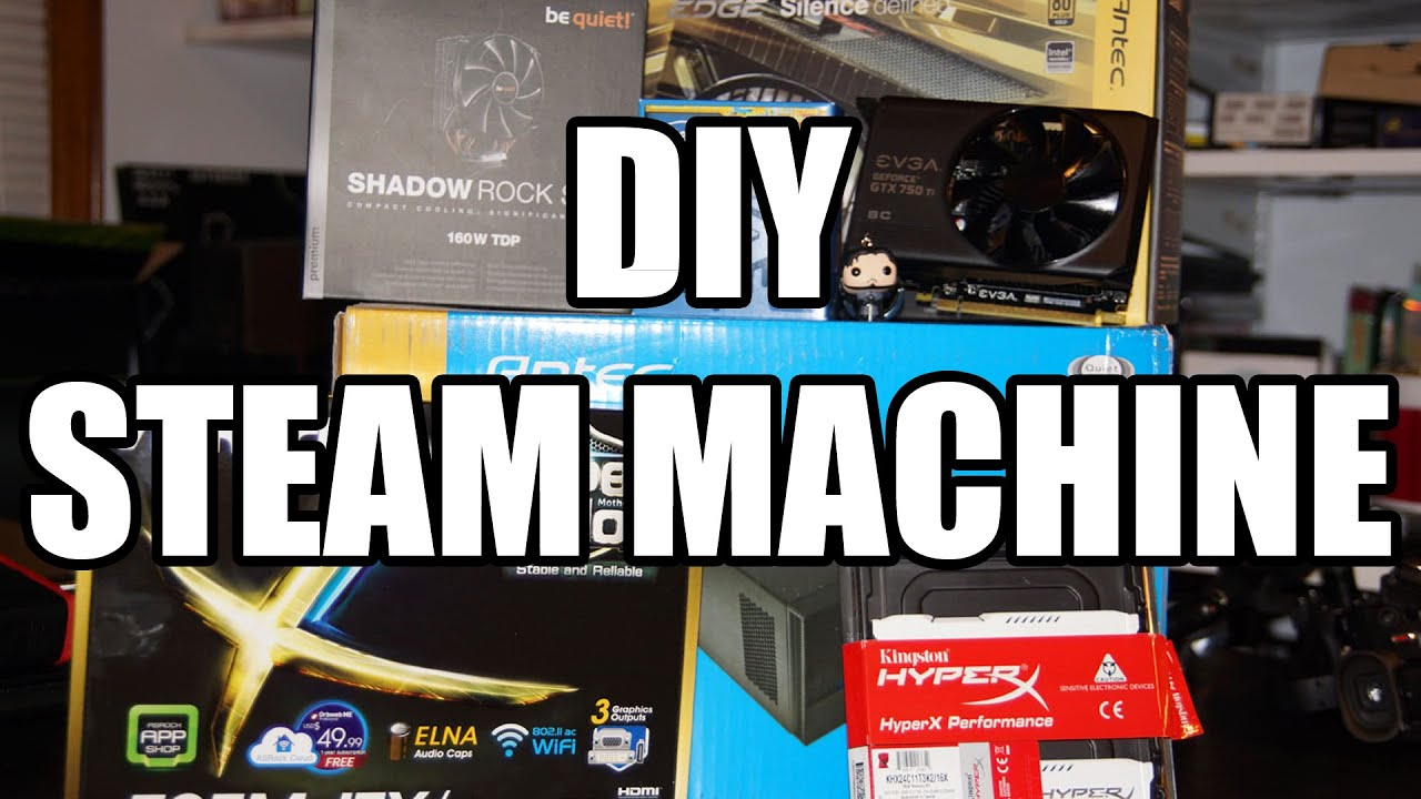 build your own steam machine 2016