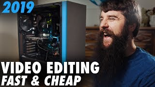 Build a Budget 4K Video Editing PC for $700 in 2019! | Ryzen Computer Guide