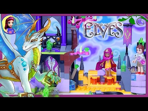 LEGO Elves Queen Dragon's Rescue Build Review Silly Play Part 1 - Kids Toys