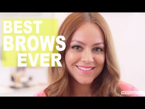Get the Perfect Brows For Your Face Shape | NewBeauty Tutorial