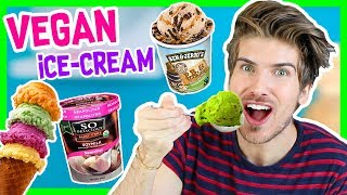 VEGAN ICE CREAM TASTE TEST!
