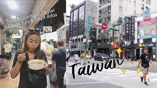 Taiwan Vlog + travel tips & important information