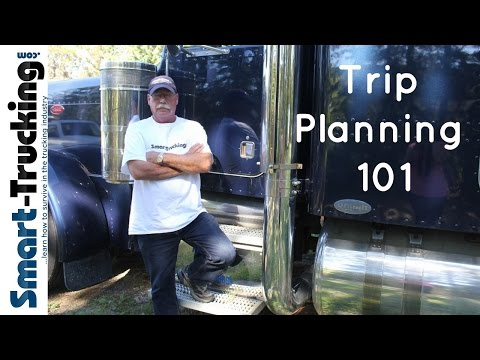 Easy Trip Planning Tips For Truck Drivers